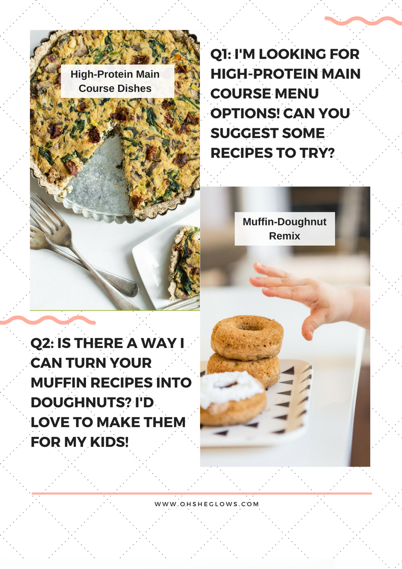 Ask Angela High Protein Vegan Entrées Turning Muffins Into
