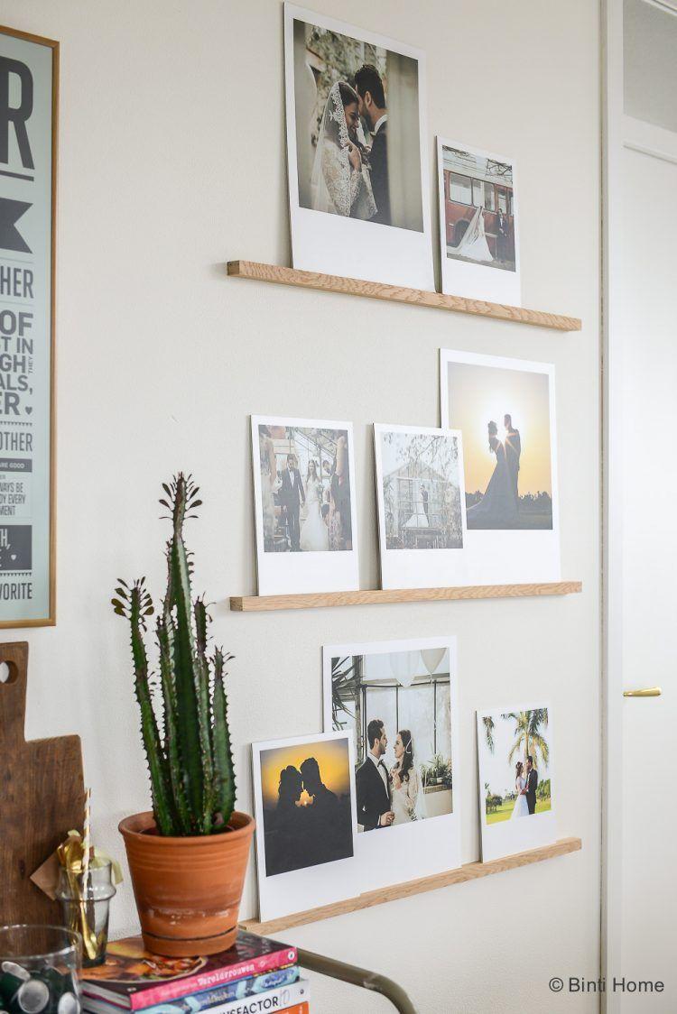 diy fotowand maken – our wedding photo wall + video   woonkamer