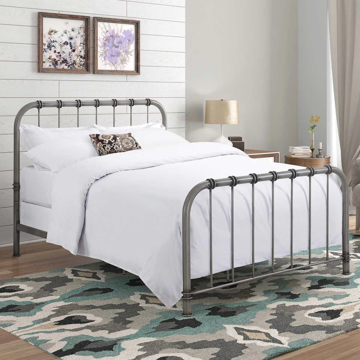 Pin By Rumesha Ahmed On Sonoma House Queen Bed Frame Bed Frame