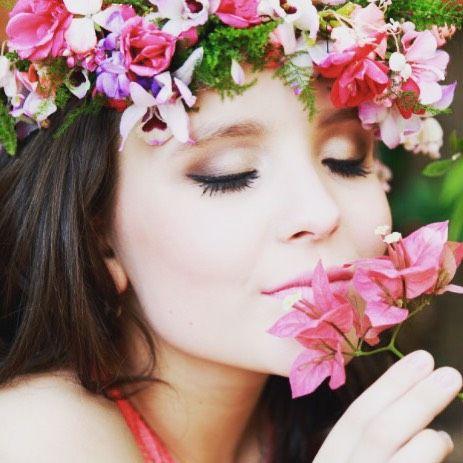4b8d961208d2f Um bom dia com cheirinho de flor pra você!