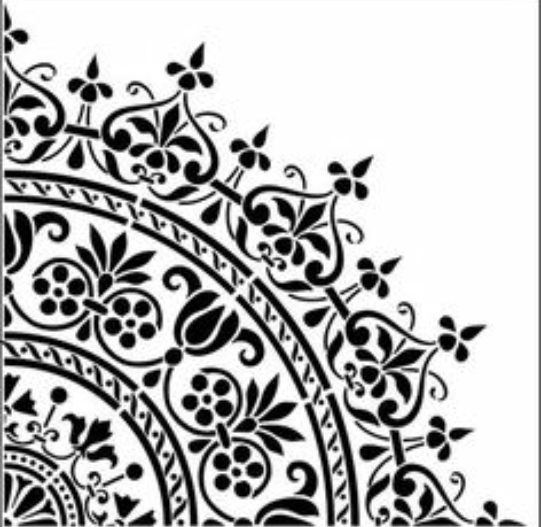 Line Art Design Studio : Pin de dekorhanem en stencil pinterest mandalas y cuadro
