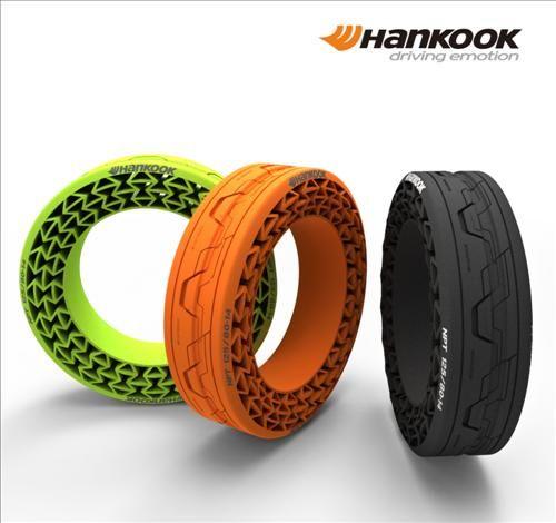 한국타이어 공기없는 타이어 공개 Airless Tire By Hankook