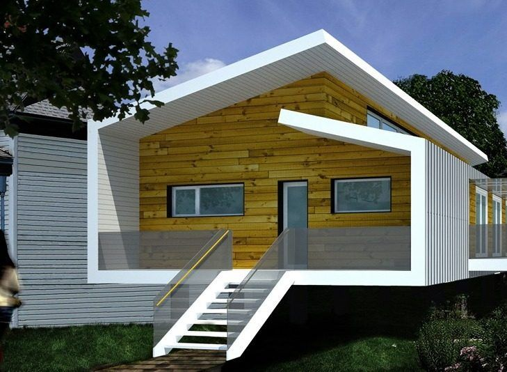 Elevated Flood Proof Resilient House Headed For Rockaways House Design Hurricane Proof House Flooded House