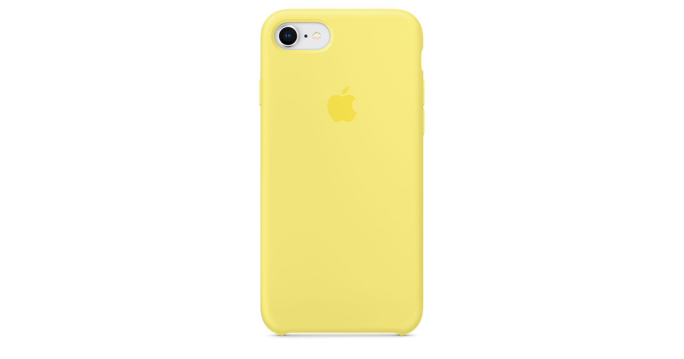 competitive price 01c75 cc2ca iPhone 8 / 7 Silicone Case - Black in 2019 | Yellow | Iphone phone ...