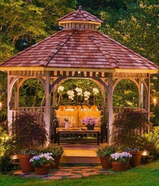 Gazebos Pavilions Outdoor Decor Living Free Shipping No