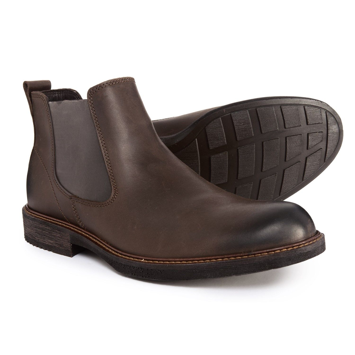 247a850f451 ECCO Kenton Chelsea Boots (For Men) in Coffee at Sierra Trading Post.  Celebrating 30 Years Of Exploring.