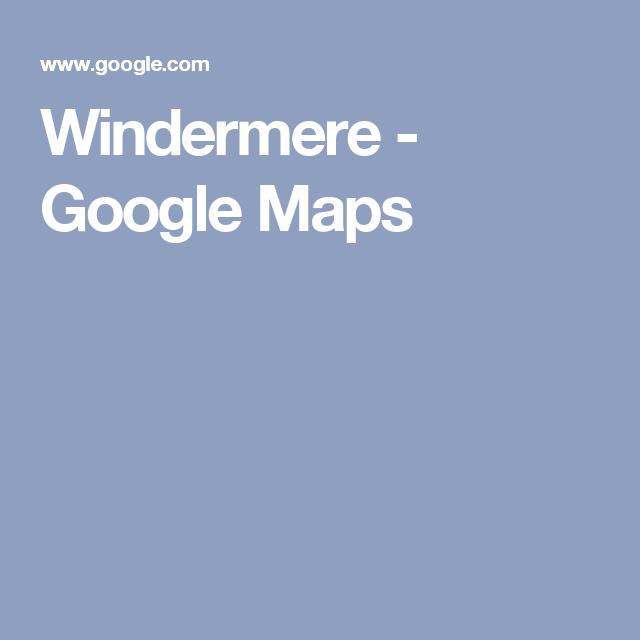 Windermere - Google Maps   Orlando Neighborhoods   Map ...