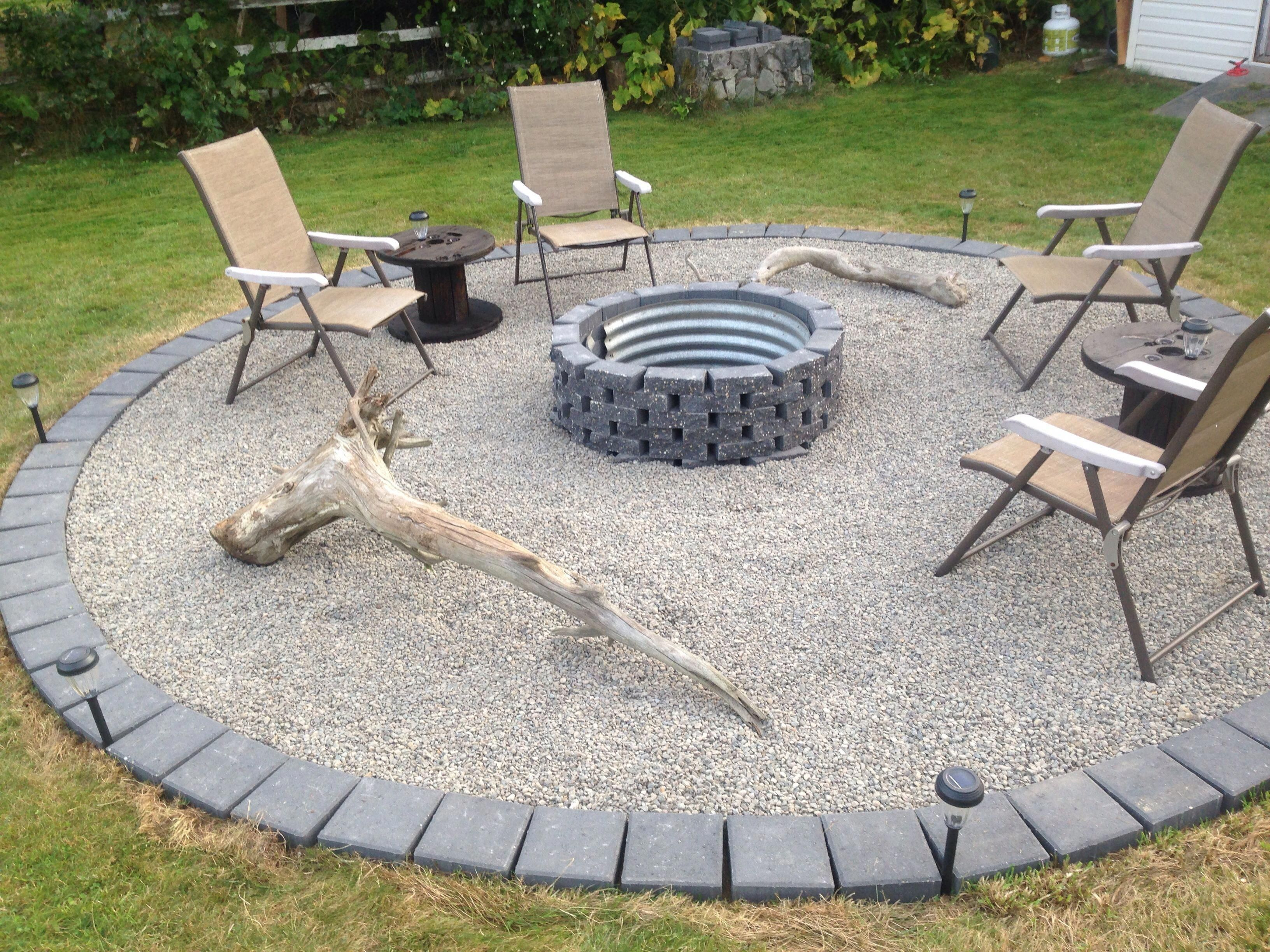 64 Diy Small Firepit Ideas For Outdoor To Wram Family