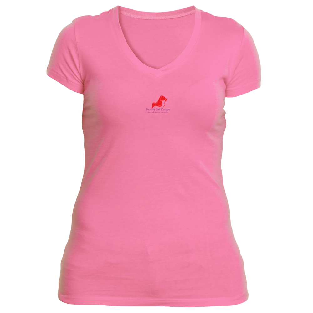 Ladies' Sporty V-Neck