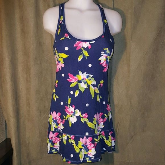 Gilly Hicks Floral Polka Dot Nightie Cute little nightgown perfect for summer. Gilly Hicks Intimates & Sleepwear Pajamas