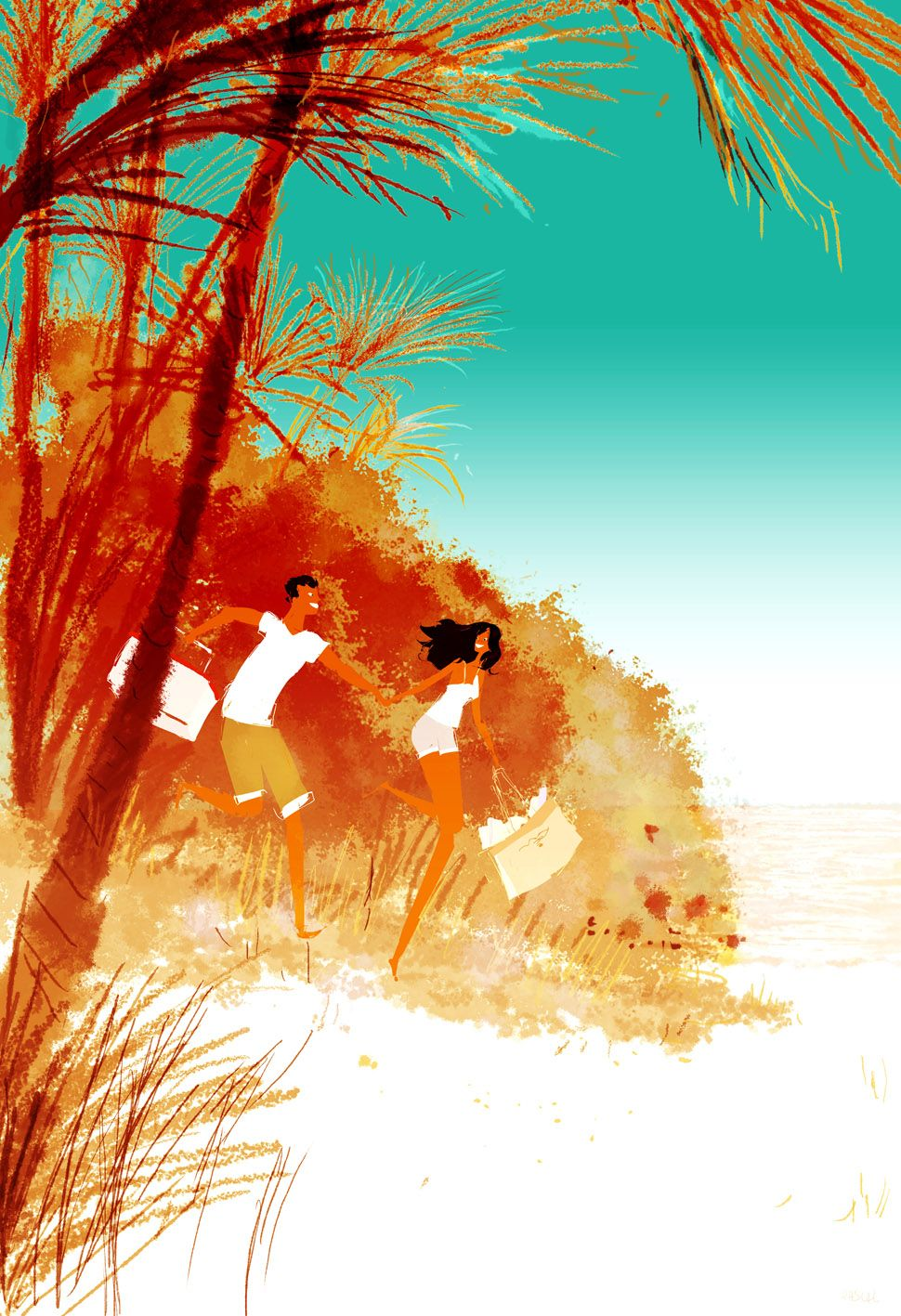 But it's only Thursday! #pascalcampionart. _Even better.. we'll have the whole place to ourselves!