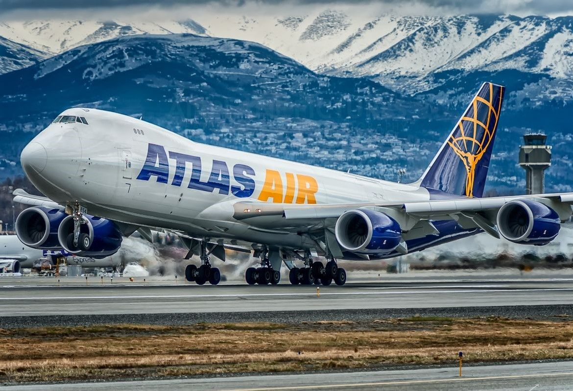 Pin by blueskies on planes Atlas air, Cargo aircraft
