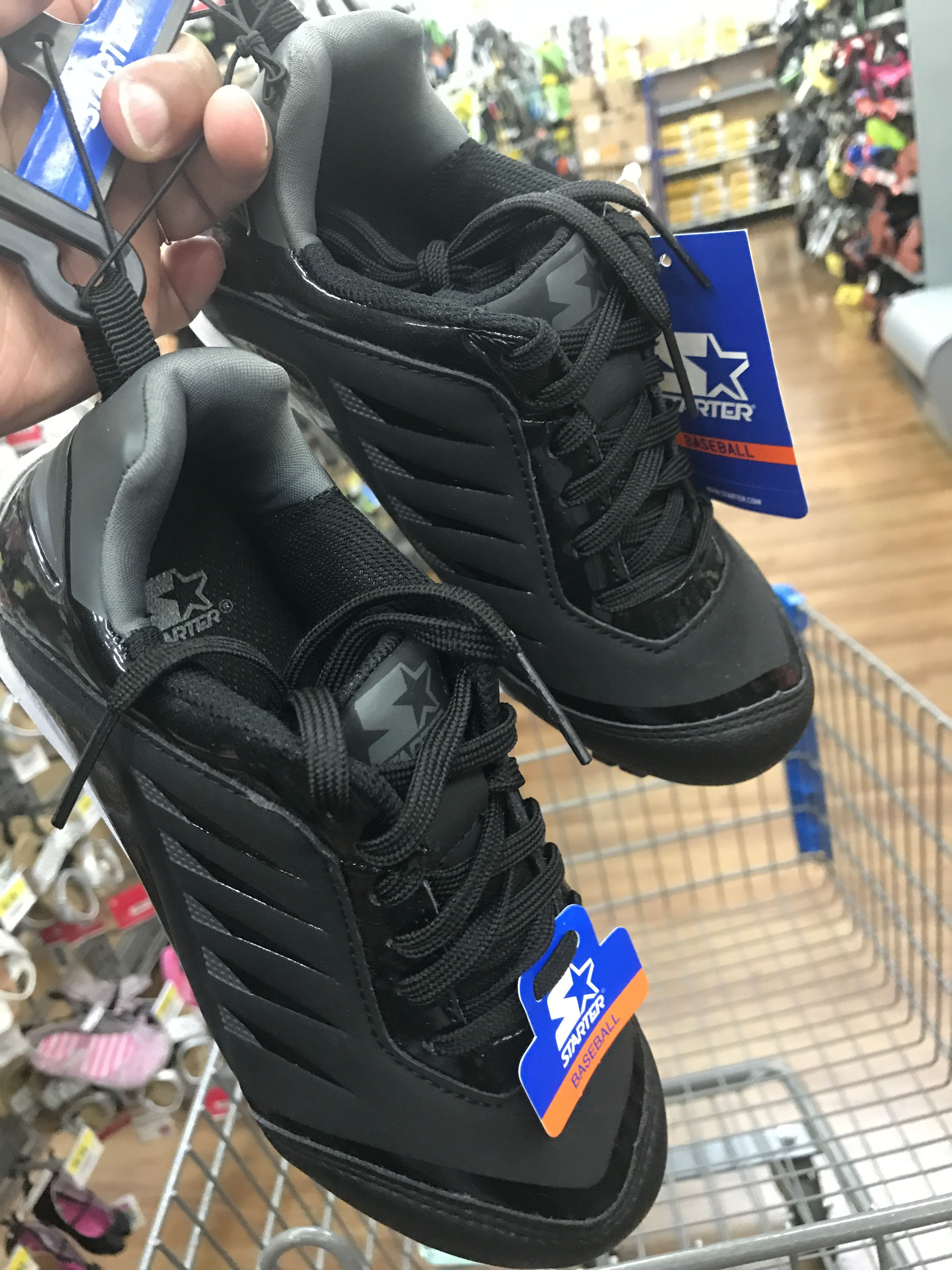 326ceebf0478 Walmart cleats All Black Sneakers