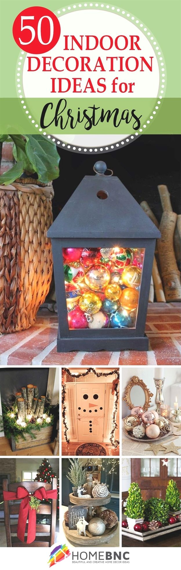50 Indoor Decoration Ideas for Christmas that will Spark
