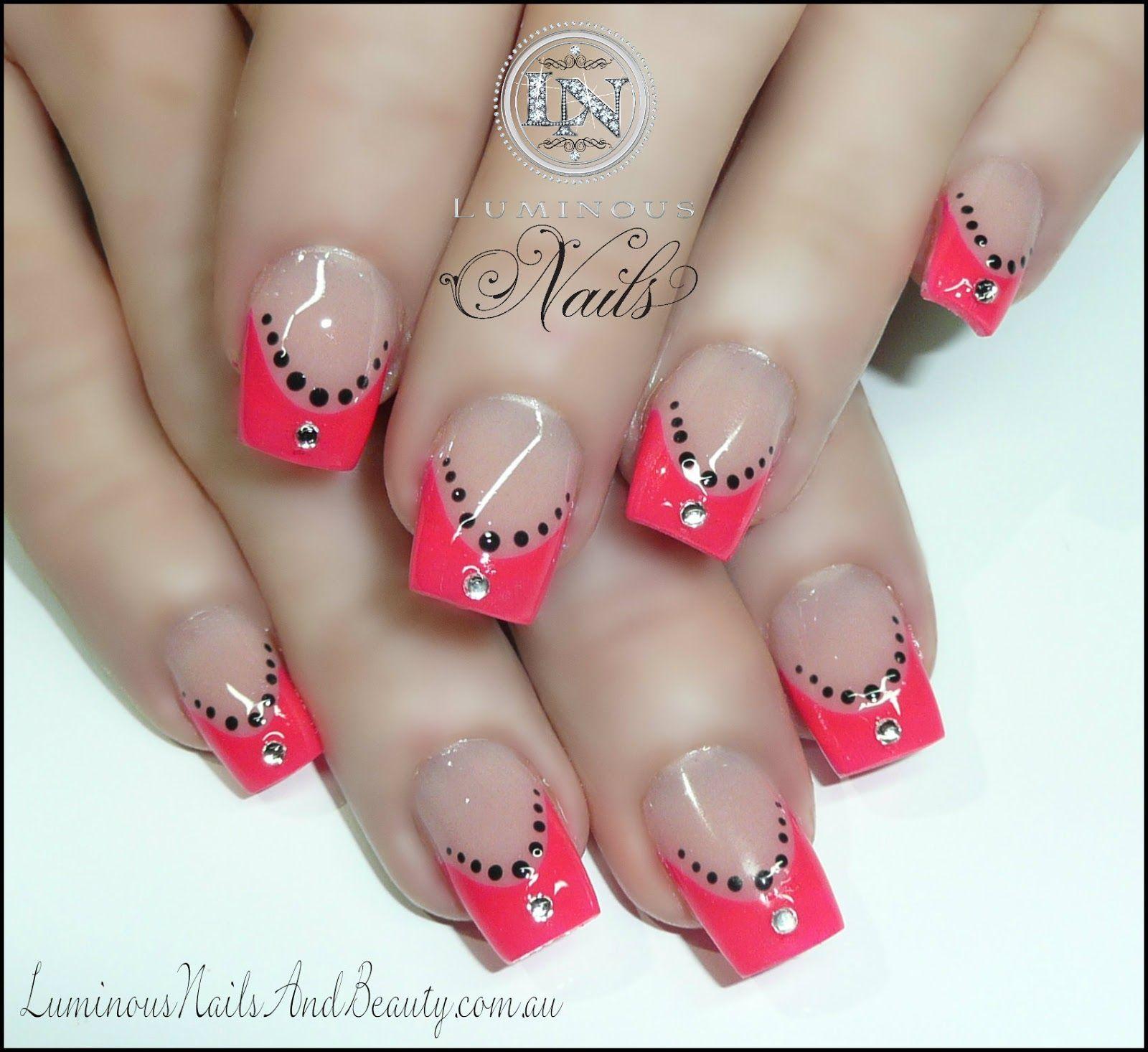 Pink Acrylic Nails | ... .+Acrylic+Nails,+Gel+Nails,+Sculptured+ ...
