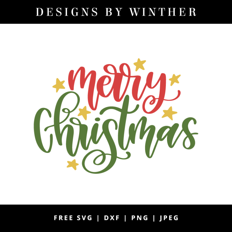 Free Merry Christmas Svg Dxf Png Jpeg Merry Christmas Calligraphy Christmas Lettering Merry Christmas Tags