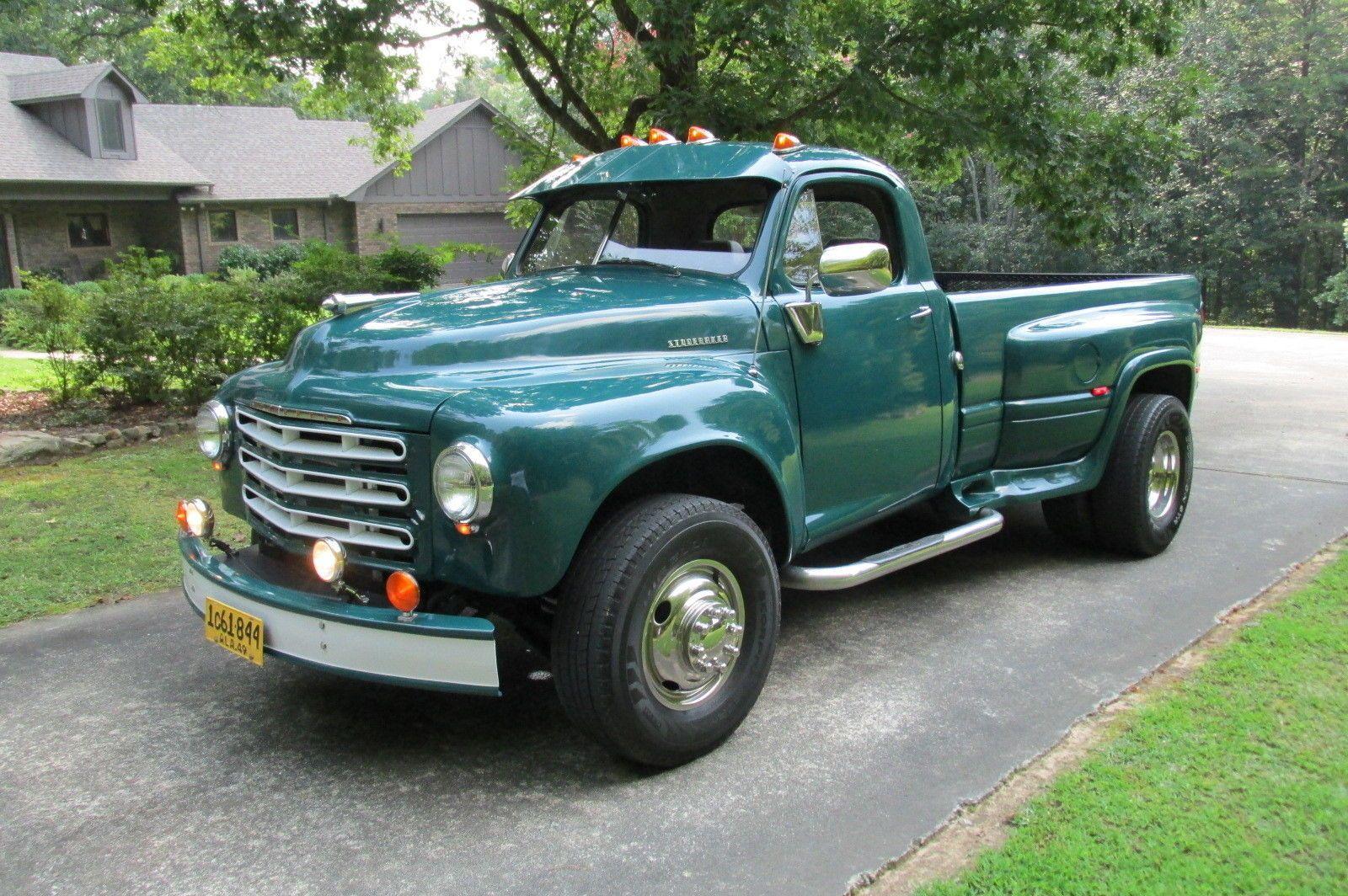 49 studebaker 1 ton dually modified ebay