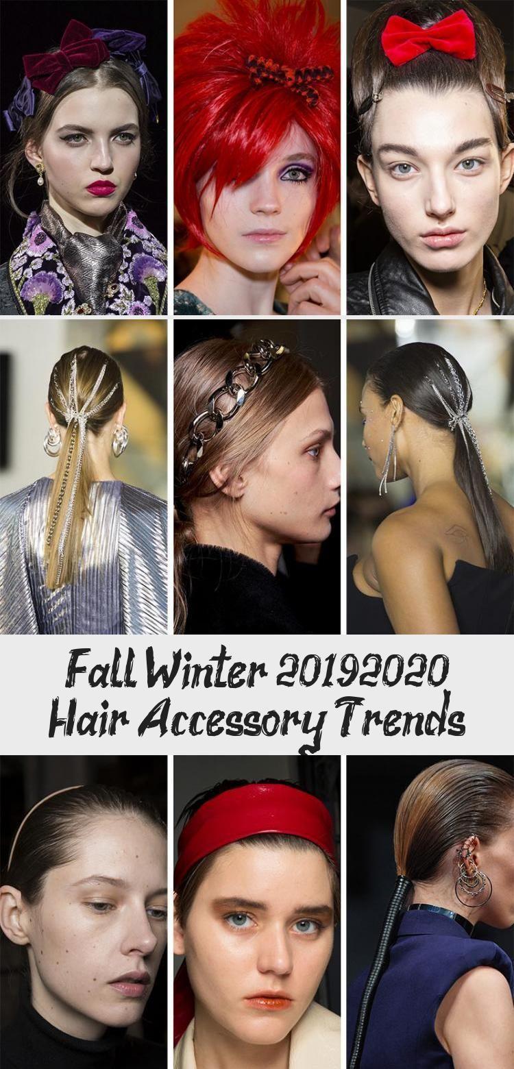 Fall/ Winter 2019-2020 Hair Accessory Trends - Best Hairstyles  Fall/ Winter 2019-2020 Hair Accessory Trends: Fall 2019 Hair Accessories #  #Accessory #Fall #hair #Hairstyles #Trends #winter