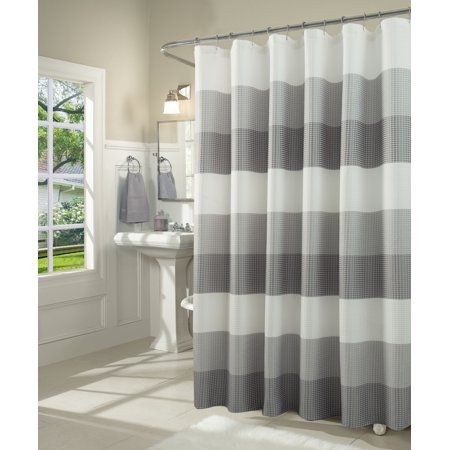 Home Fabric Shower Curtains Ombre Shower Curtain Curtains