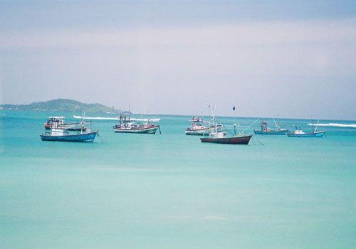 Weligama Bay, Sri Lanka