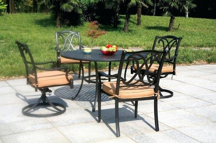 Outdoor Living Dubai Cast Aluminum Patio Furniture Outdoor