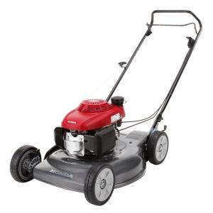 Honda 21 In Gas Push Mower Hrs216pda At The Home Depot Push Mower Mower Steel Deck