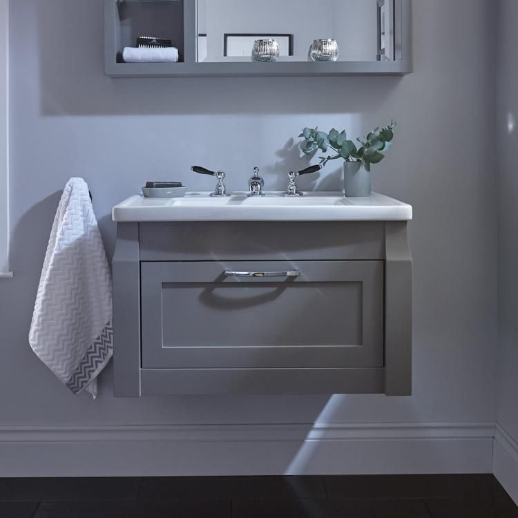 The Imperial Radcliffe Westbury Wall Hung Vanity Unit Basin Is Available In A Range Of Highly Distinctive Wood And Hand Wall Hung Vanity Vanity Units Vanity