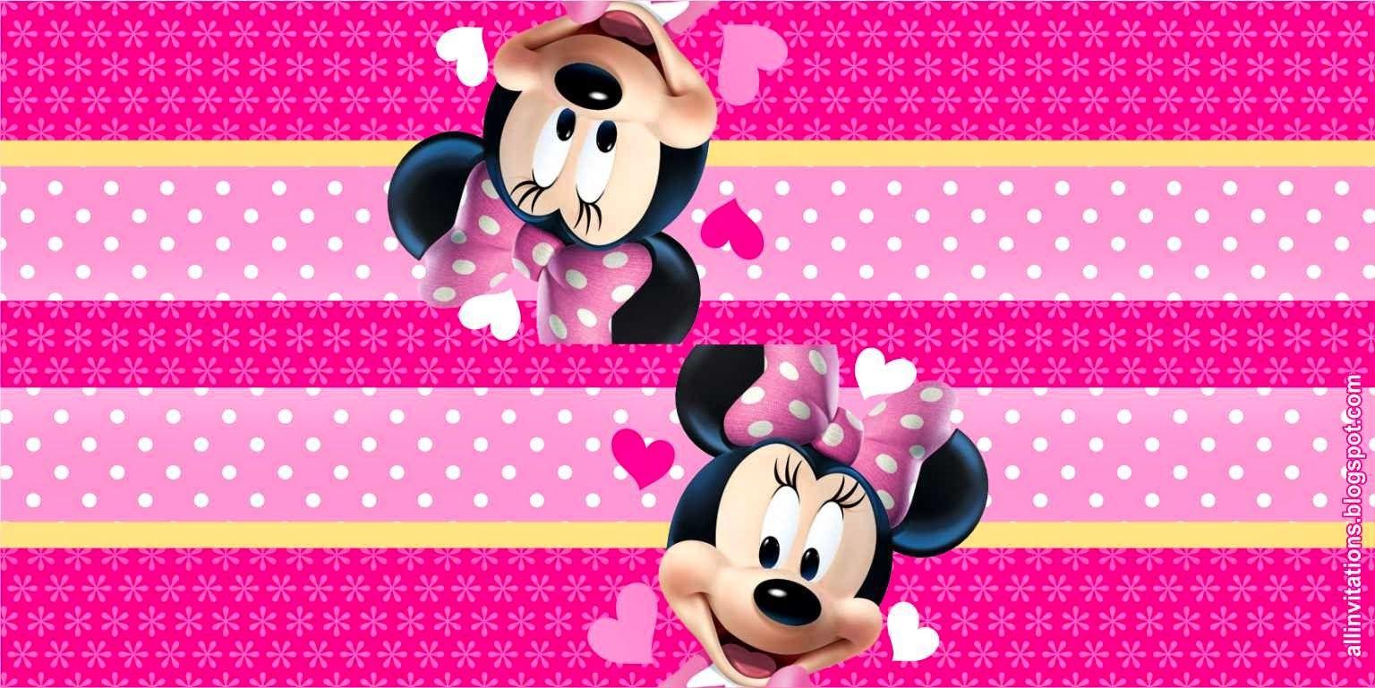 minnie-mouse-etiqueta-bolsa-dulces.jpg (1536×769) | Minnie ...