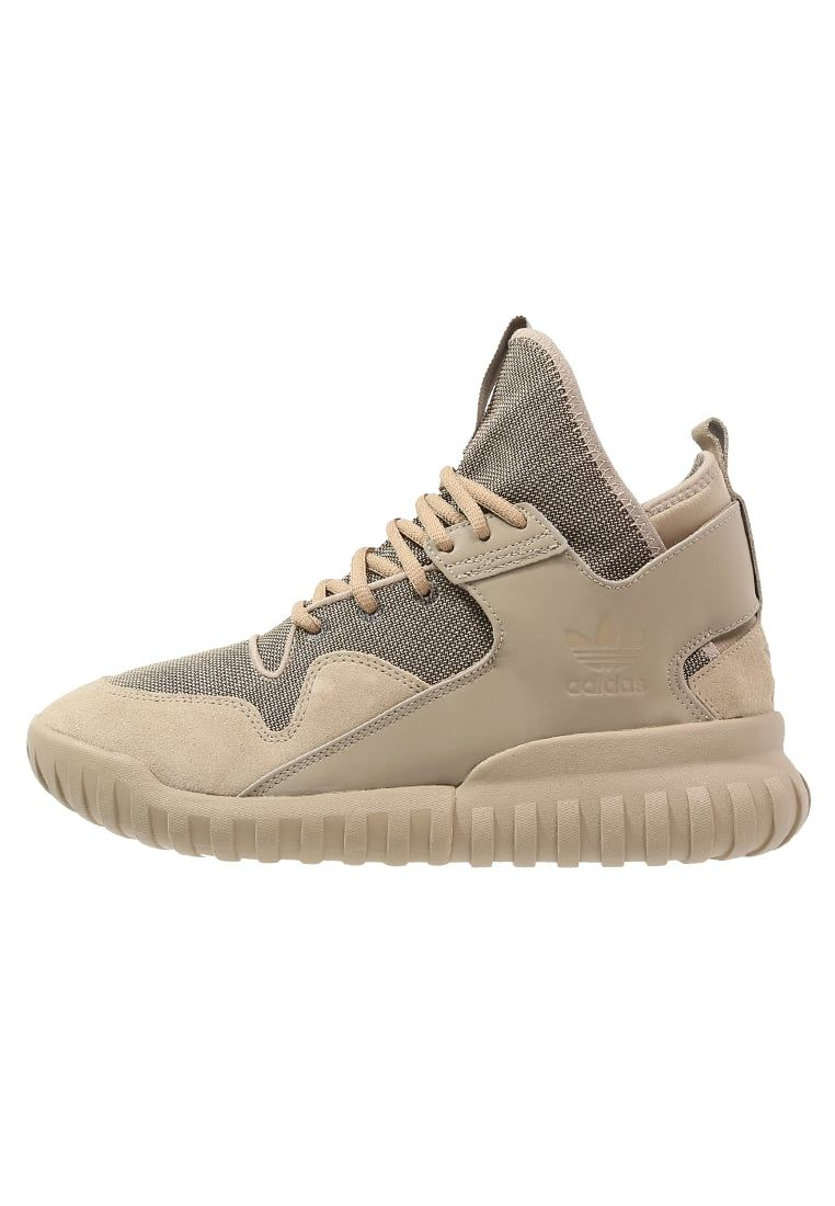 adidas Originals TUBULAR X - High-top trainers - sand for £100.00 (01/05/16) with free delivery at Zalando