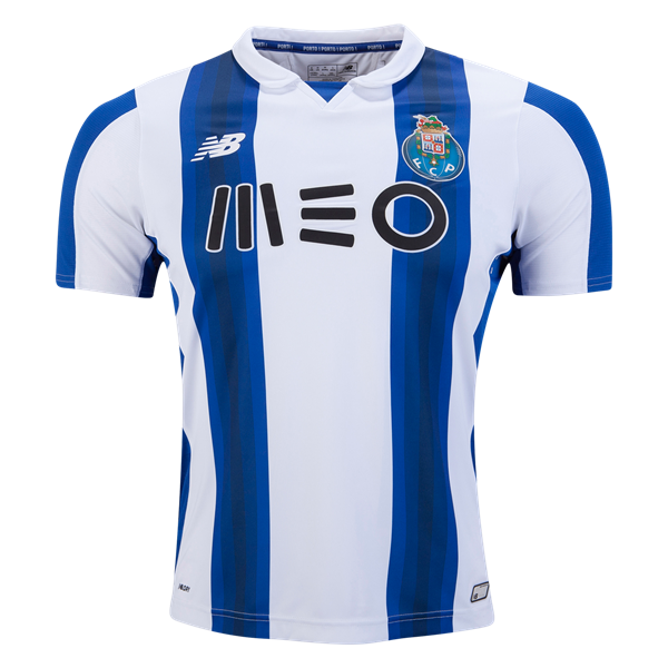 Porto Home 16/17 Home Soccer Jersey - ☆                                   FC Porto Fans - get match ready for the 2016/17 UEFA Champions League now at WorldSoccerShop.com