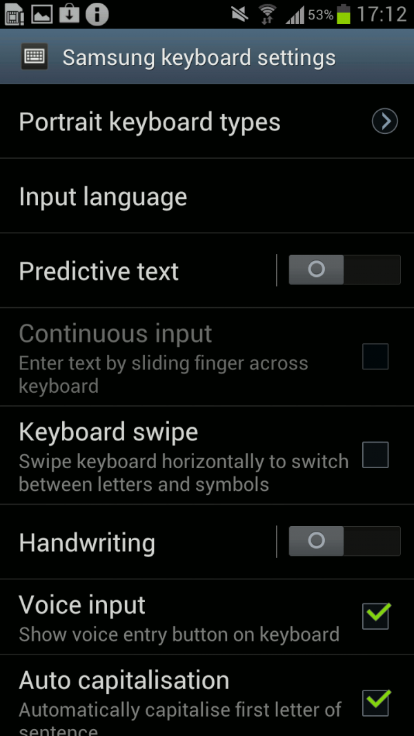 How To Use Swype Settings On Samsung Galaxy S4 Galaxy S4