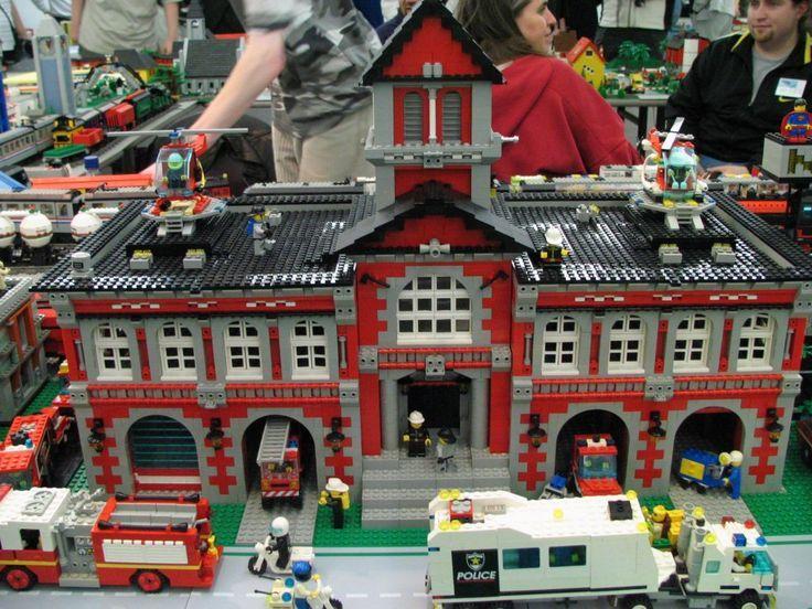 Risultati Immagini Per Lego Fire Brigade Moc Lego Building