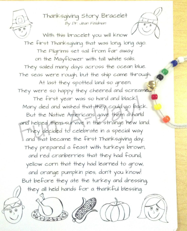 Thanksgiving Story Bracelet | Noviembre y Arte
