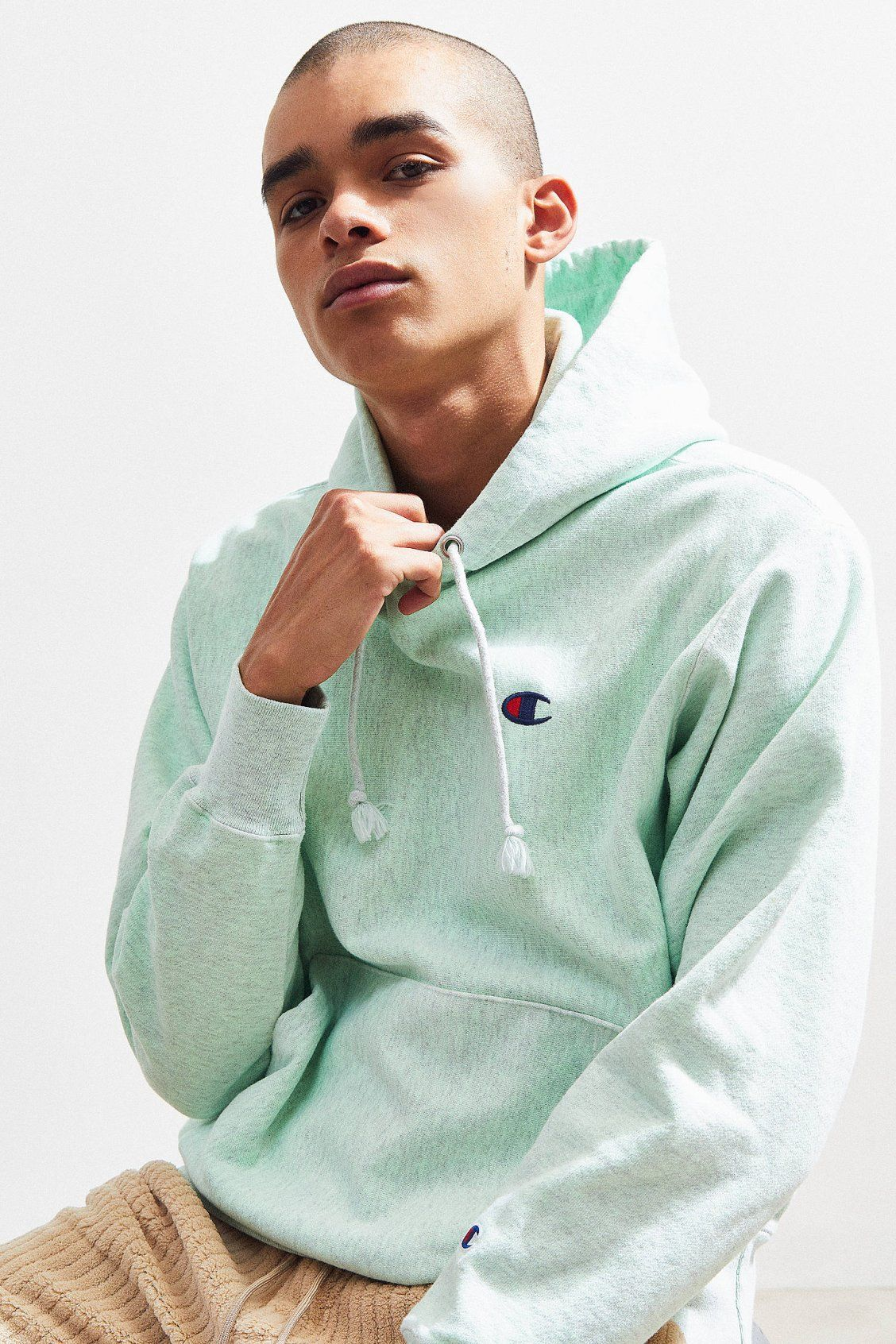 1ec64778 Hoodies + Sweatshirts for Men. Champion Marble Dye Hoodie Sweatshirt |  Urban Outfitters