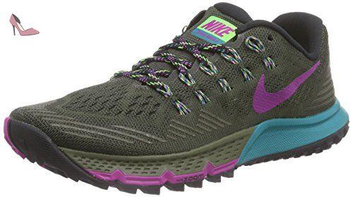 sale retailer 5bd45 3429a Nike Air Zoom Terra Kiger 3, Chaussures de Running Femme - Gris (cargo Khaki
