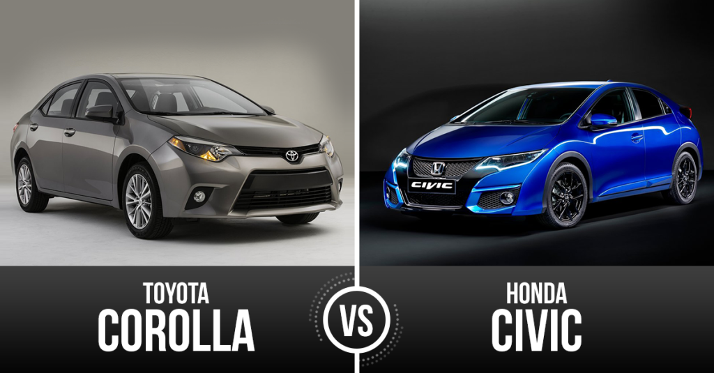 Civic Vs Corolla >> Two Top Japanese Models Honda Civic Vs Toyota Corolla
