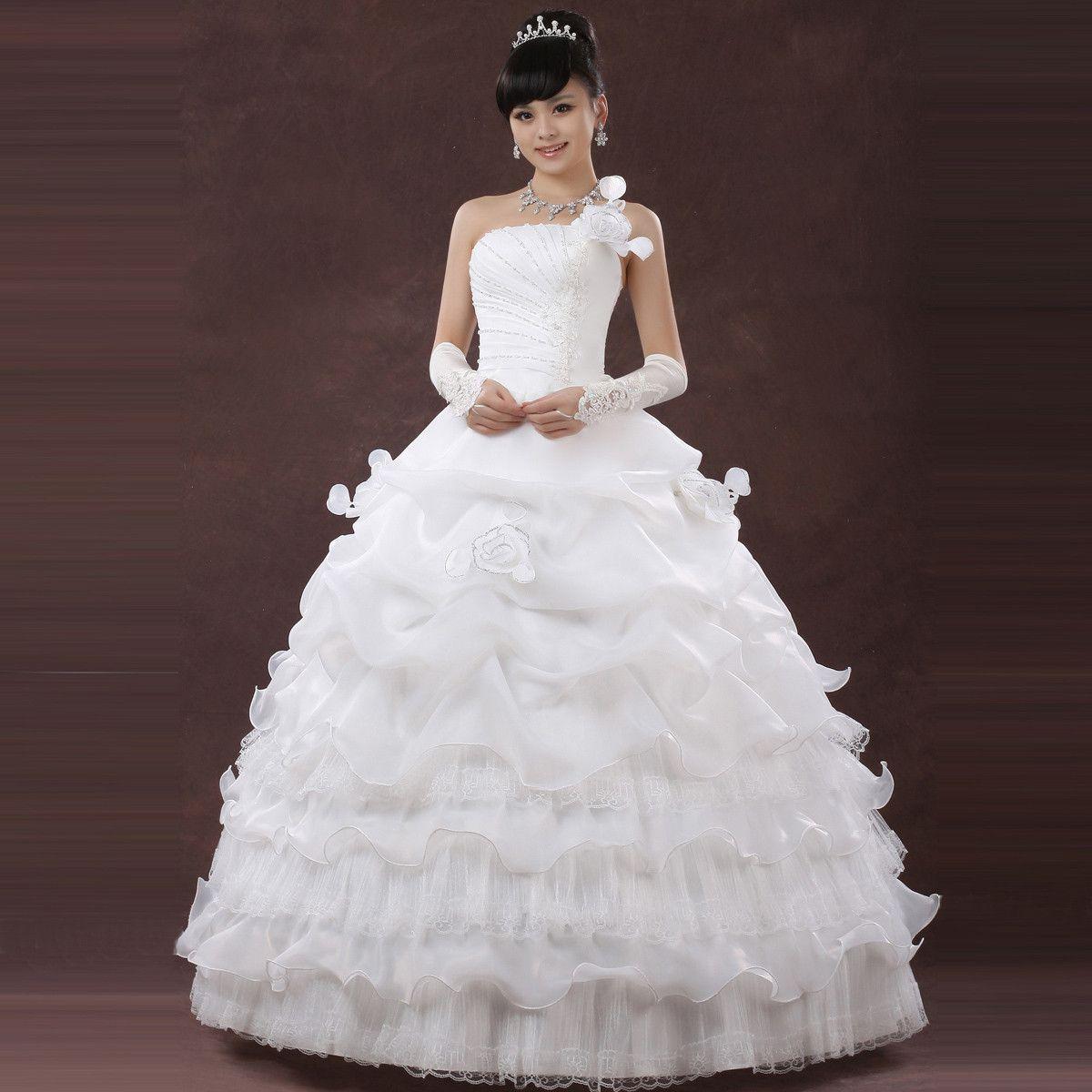 nice dresses for wedding Cute Cheap Wedding Dresses