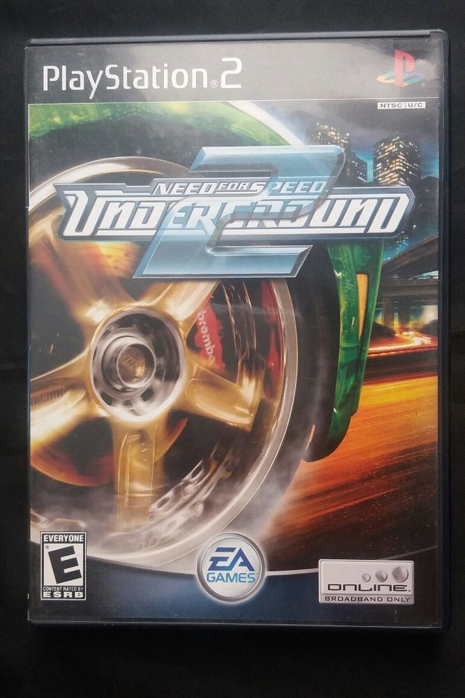 Need For Speed Underground Complete Cib Sony Playstation 2 Ps2