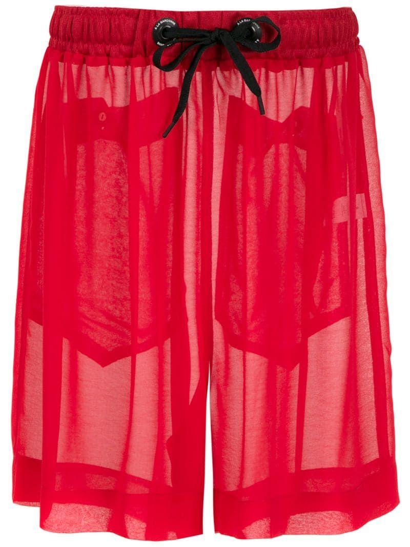 À La Garçonne Chiffon Shorts - Farfetch