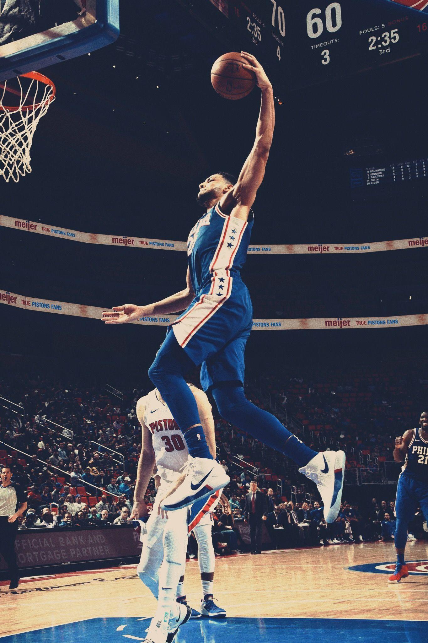 Ben Simmons Nba Ben Simmons Sixers Basket Baskets Et