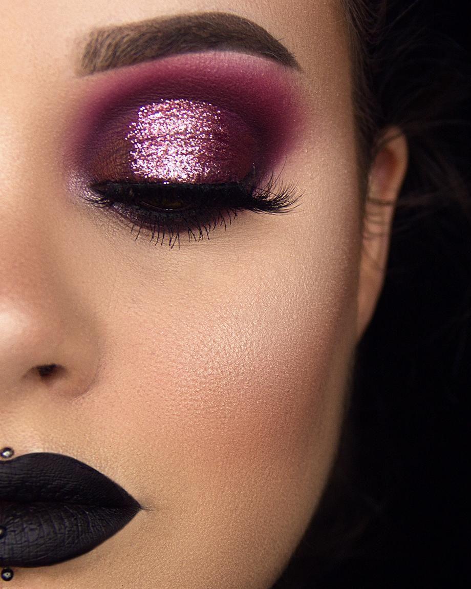 Smolder Cosmetics baby talk radiant glitter eye makeup