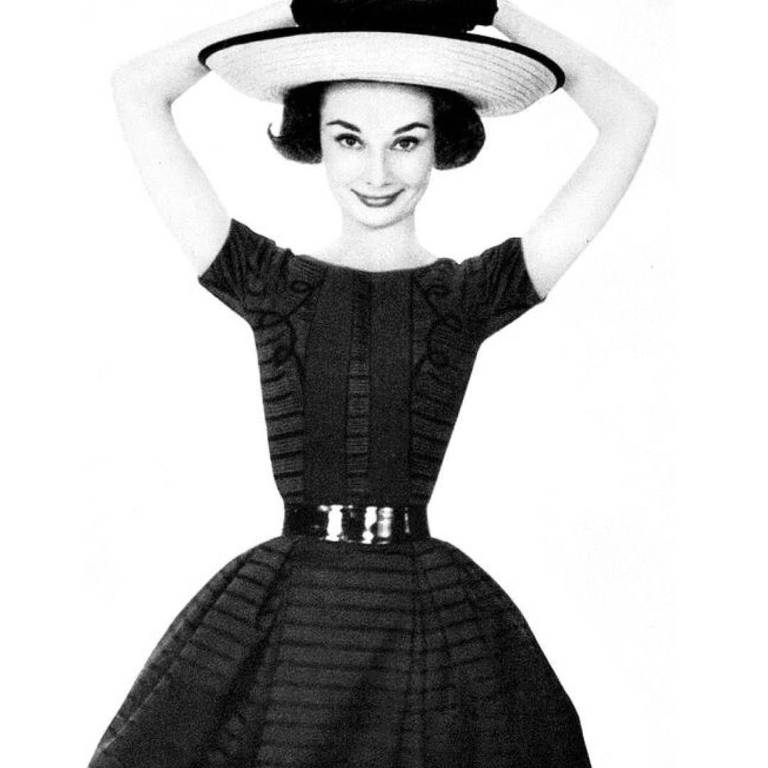 Audrey Hepburn photographed by Richard Avedon for Harper's Bazaar, 1957. | #AudreyHepburn