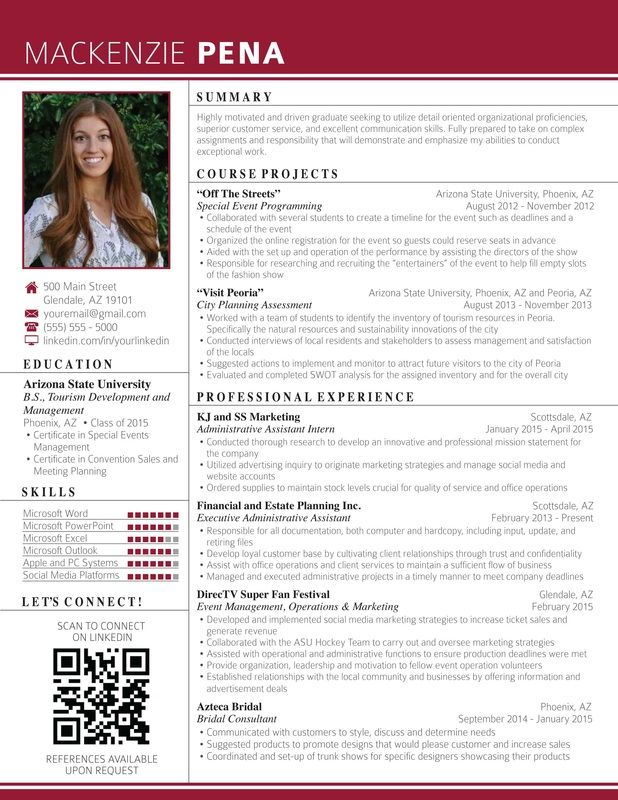 resume templates that will get you noticed