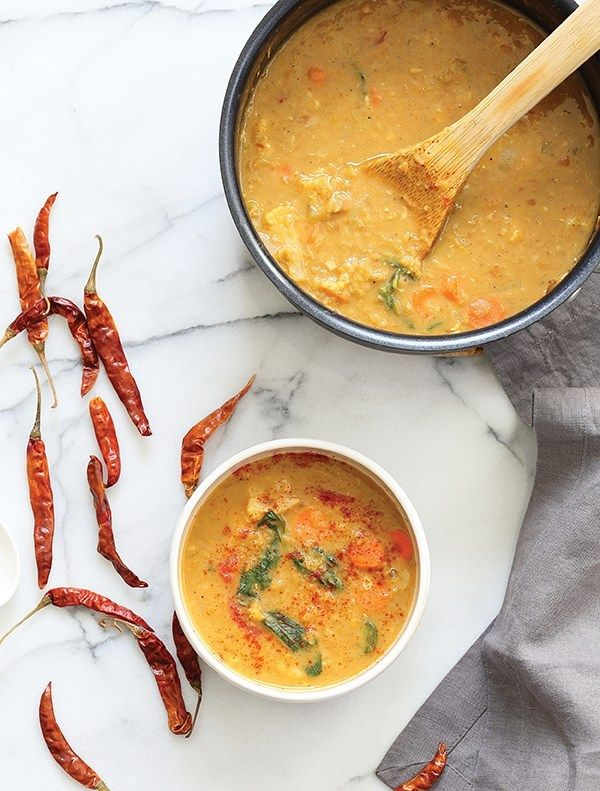 Red Curry Soup With Lentils From Vegan Richa S Everyday Kitchen Fran Costigan Recipe In 2020 Lentils Vegan Vegan Richa Curry Soup
