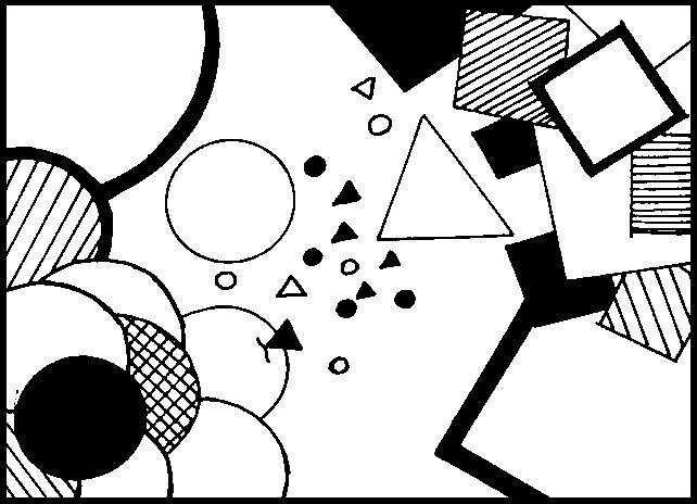 Resultado De Imagen Para Diseno Con Triangulo Cuadrado Y Circulo Abstracto Cards Playing Cards