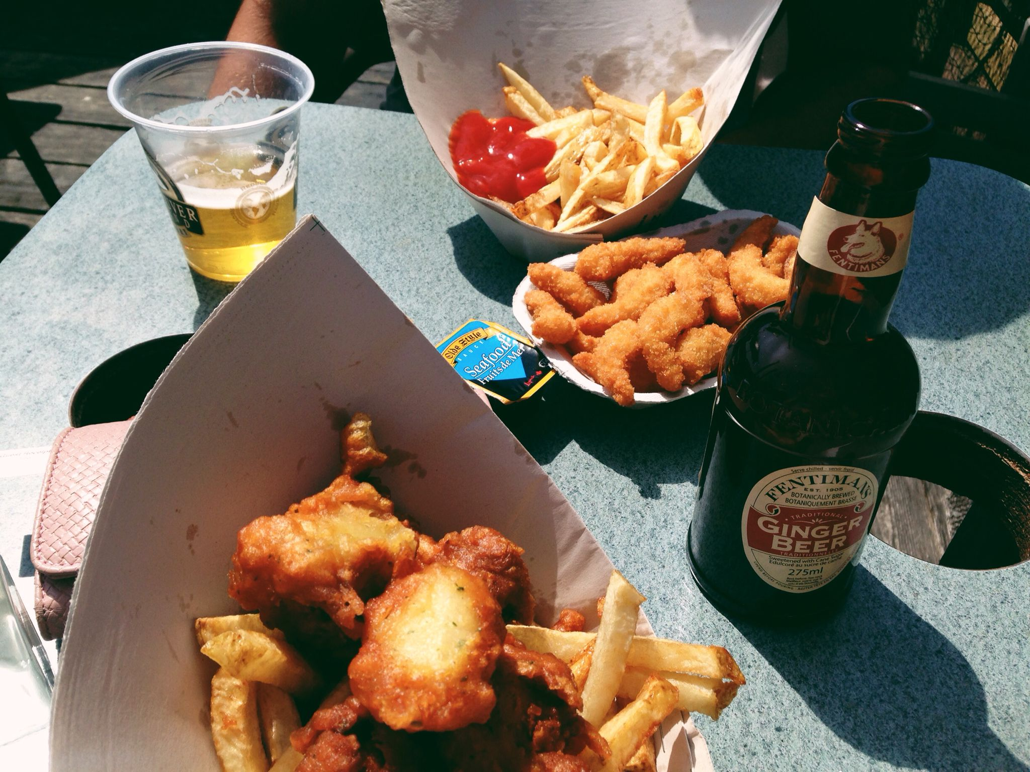 Dick's Fish N'chips Campbell River, British Columbia Canada