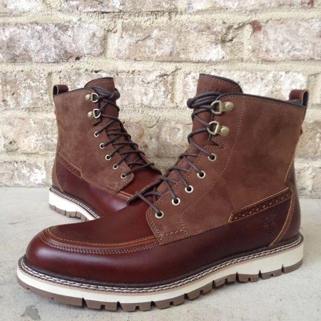 Moc toe boots men