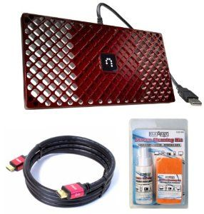 Dish Sling Adapter Hdmi Cable Screen Cleaner Bundle By Sling Media 59 95 The Dish Sling Adapter Is D Electronic Accessories Video Accessories Satellite Tv