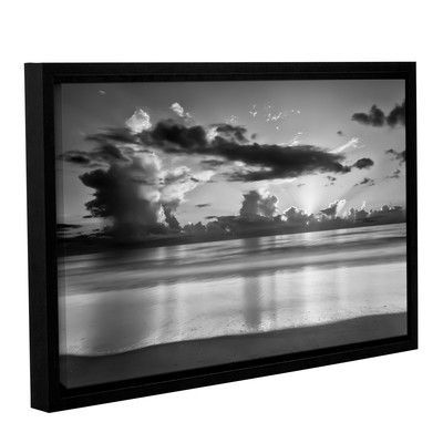 ArtWall 'Atlantic Sunrise No.19' by Robert J. Amoruso Framed Photographic Print Size: