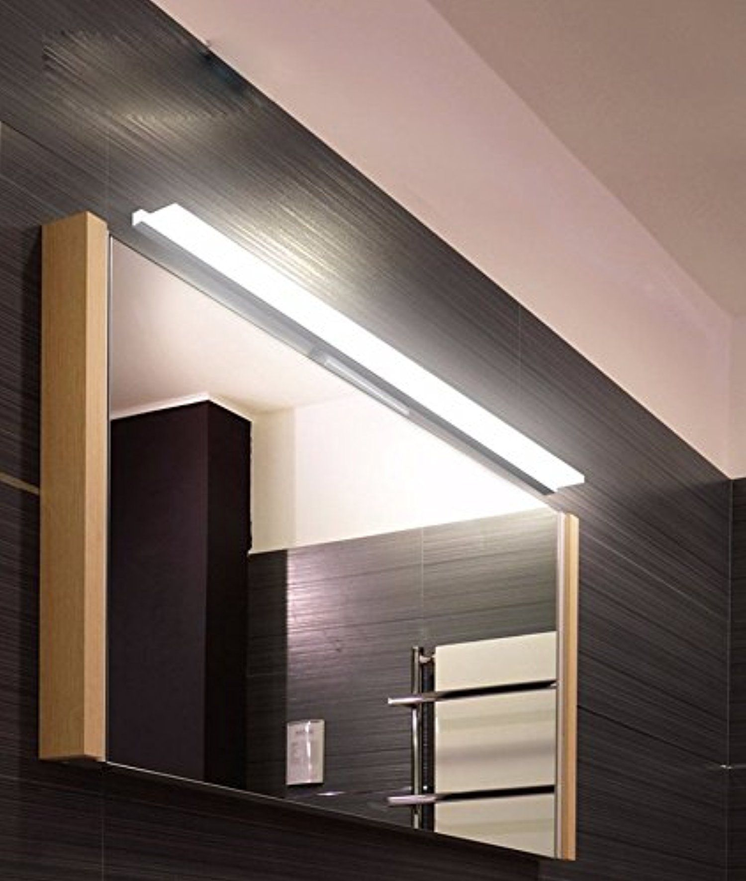 Modern Wall Light Led Acrylic Bathroom Lighting Contemporary Design Bright Vanity Lights Waterproof Lamp Fixture 16 47 Inches Warm White 39 Inch